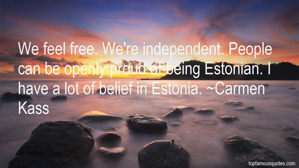 Quotes About Estonian