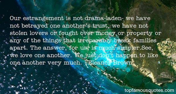 Quotes About Estrangement
