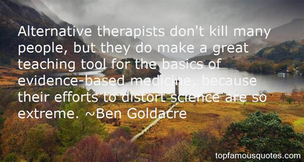 Quotes About Evidence Based Medicine