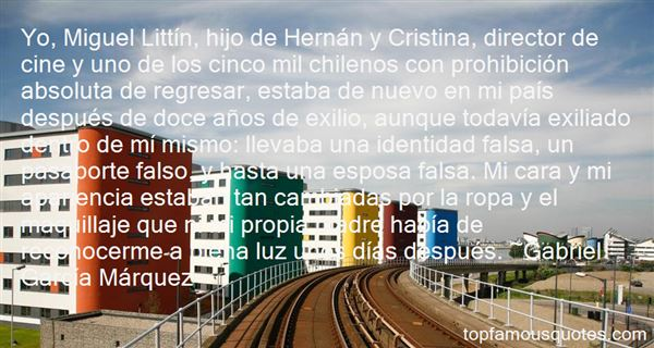 Quotes About Exilio