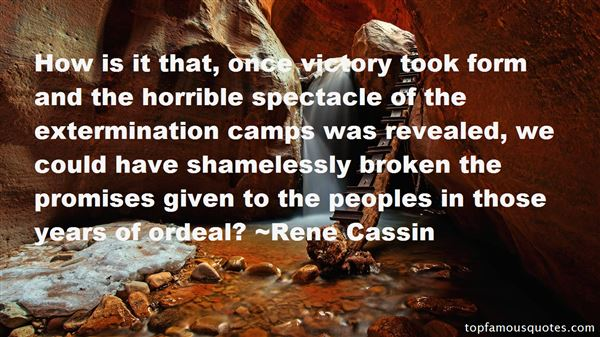 Quotes About Extermination Camps