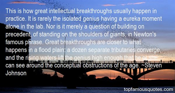 Quotes About Famous Obstruction