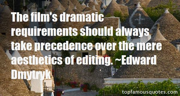 Quotes About Film Editing
