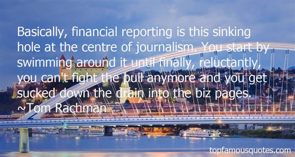 Quotes About Financial Reporting