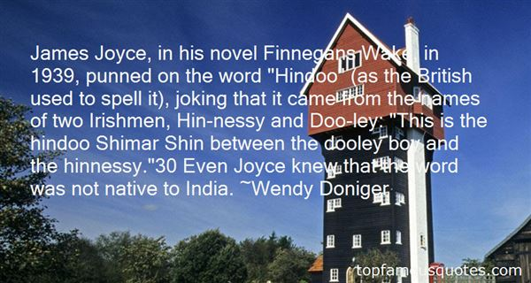 Quotes About Finnegans