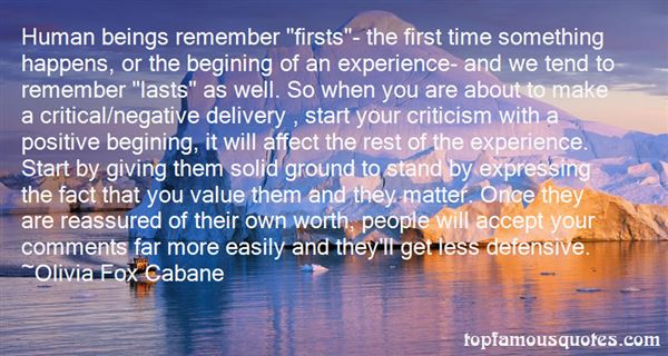 Quotes About Firsts And Lasts