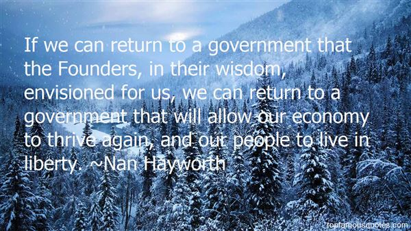 Quotes About Founders Government