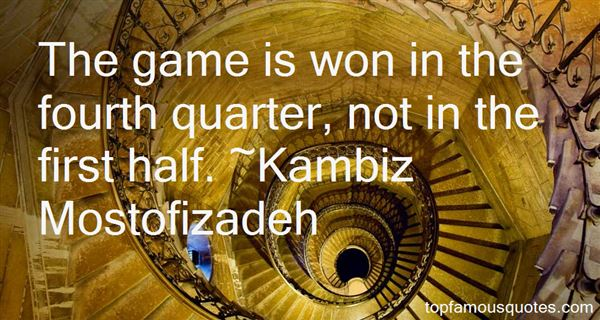 Quotes About Fourth Quarter