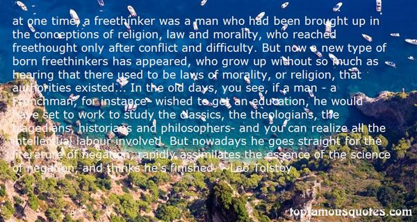 Quotes About Freethinkers
