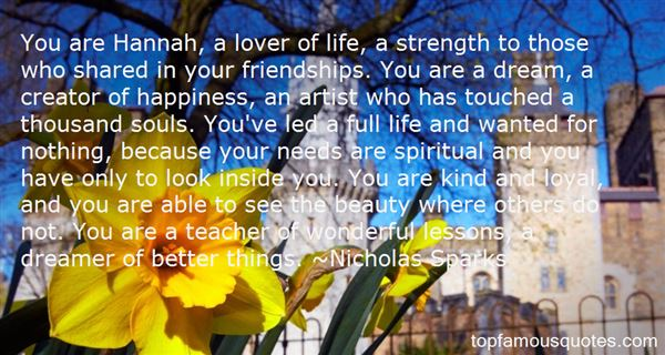 Quotes About Friendships And Life