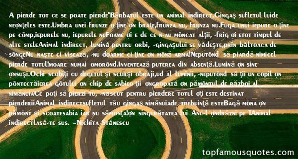 Quotes About Frunza