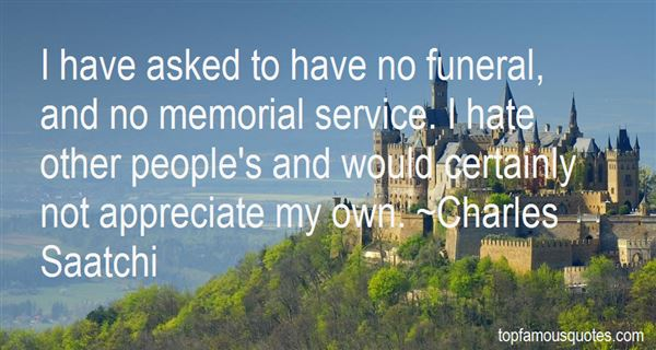 Quotes About Funeral Memorial