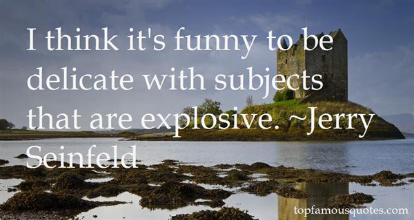 Quotes About Funny Subjects
