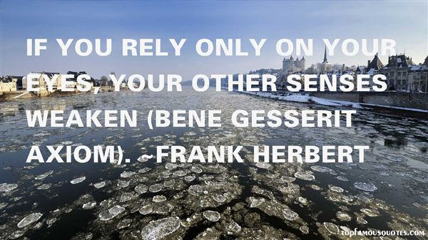 Quotes About Gesserit