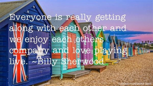 Quotes About Getting Along With Each Other