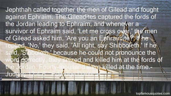 Quotes About Gilead