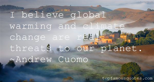 Quotes About Global Climate Change