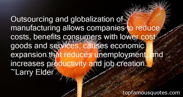 Quotes About Globalization Benefits