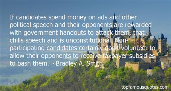 Quotes About Government Handouts
