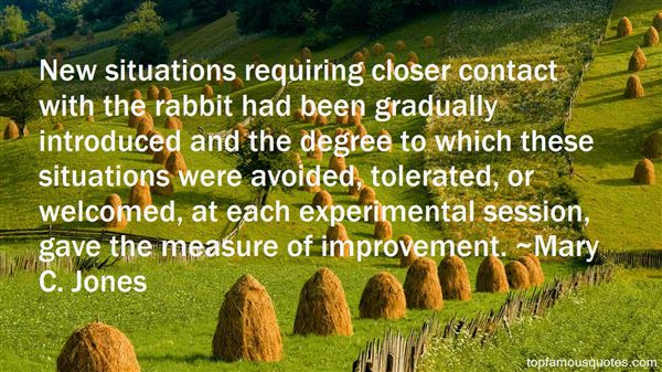Quotes About Gradual Improvement