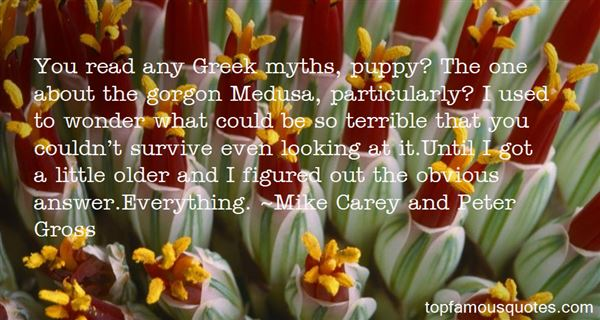 Quotes About Greek Myths
