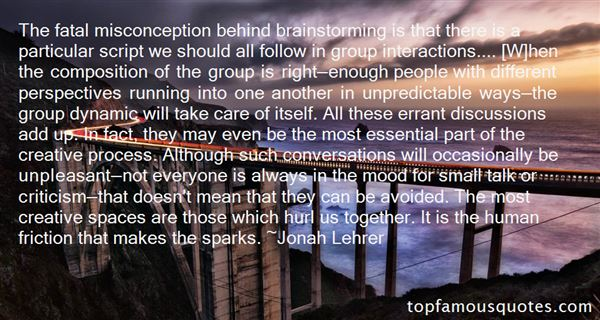 Quotes About Group Interactions