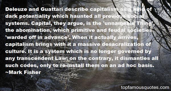Quotes About Guattari