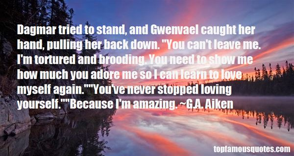 Quotes About Gwenvael