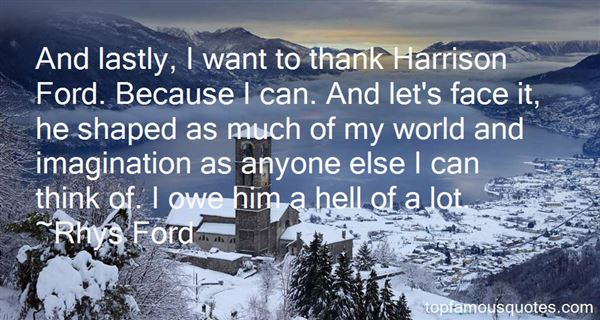 Quotes About Harrison
