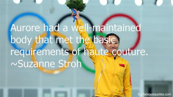 Quotes About Haute Couture