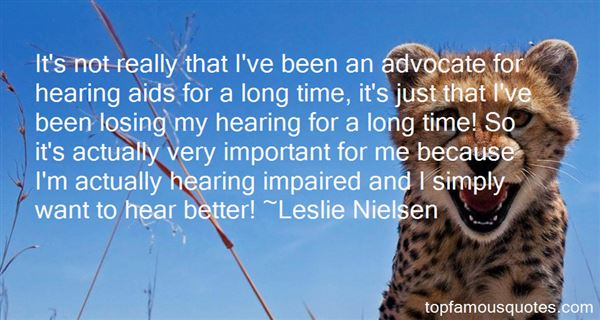 Quotes About Hearing Aids