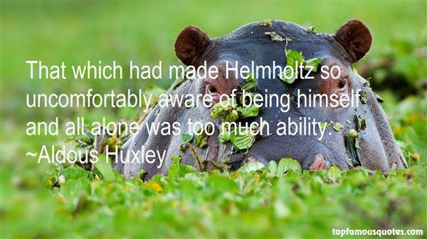 Quotes About Helmholtz