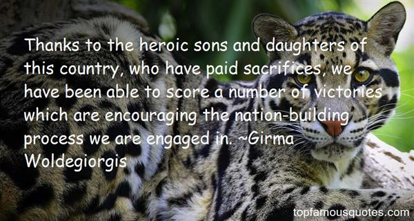 Quotes About Heroic Sacrifice