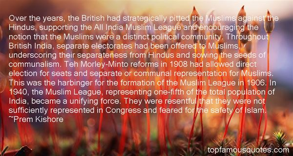 Quotes About Hindu Muslim Unity