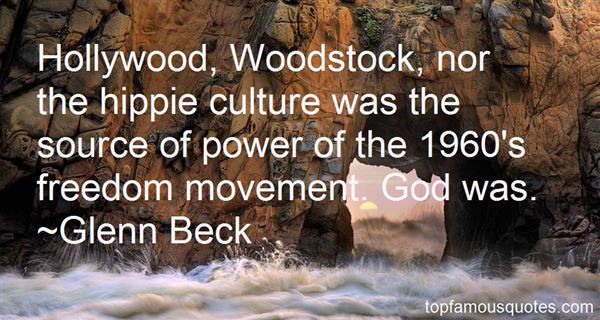 Quotes About Hippie Movement