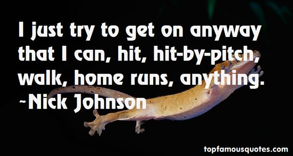 Quotes About Home Runs