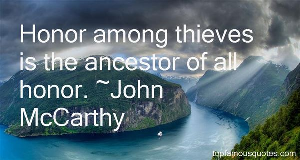 Quotes About Honor Among Thieves