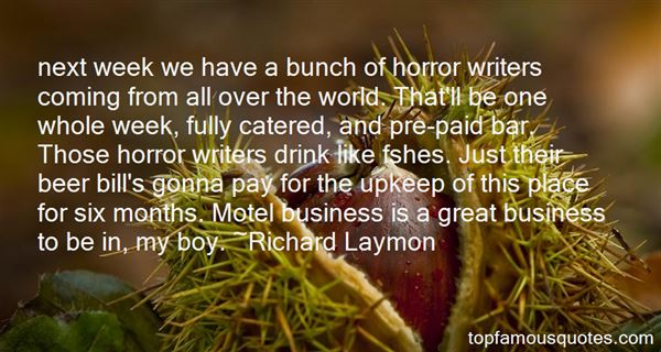 Quotes About Horror Writers