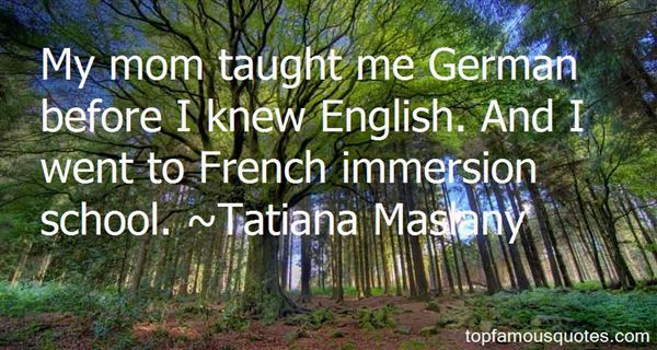 Quotes About Immersion