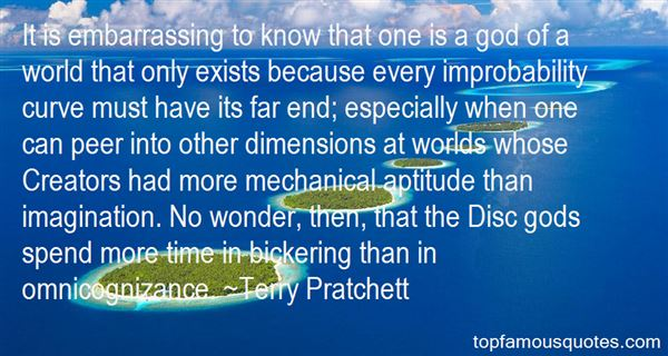 Quotes About Improbability