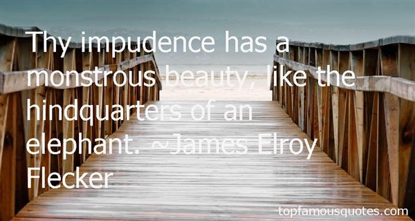 Quotes About Impudence