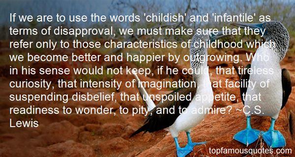 Quotes About Infantil