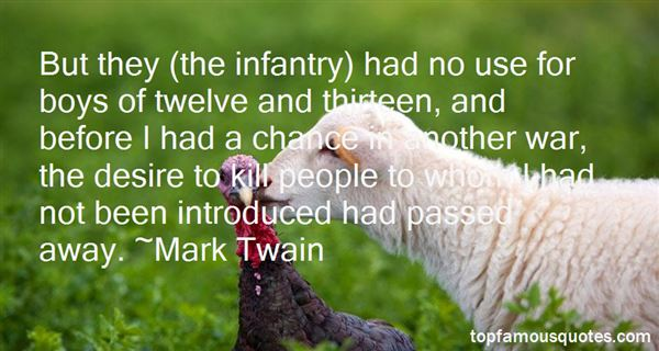 Quotes About Infantry