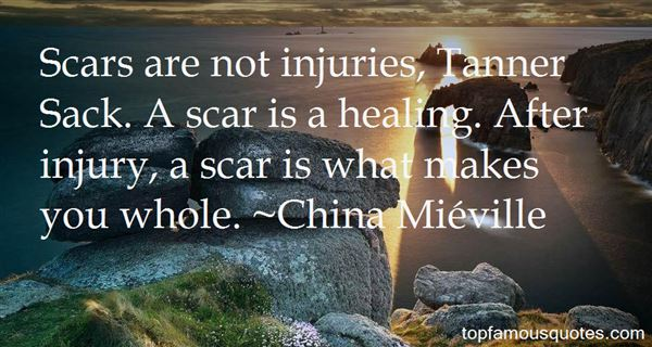 Quotes About Injuries Healing