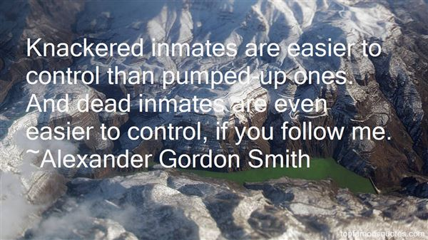 Quotes About Inmates