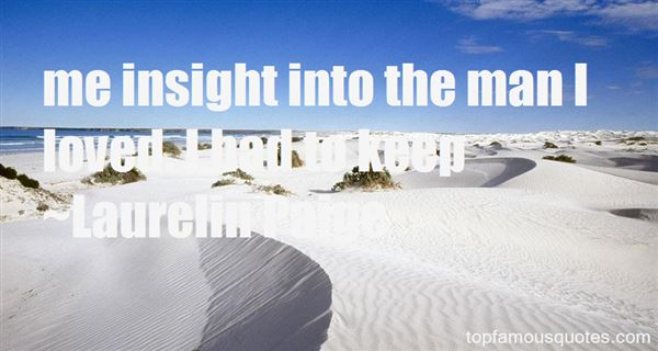 Quotes About Insight