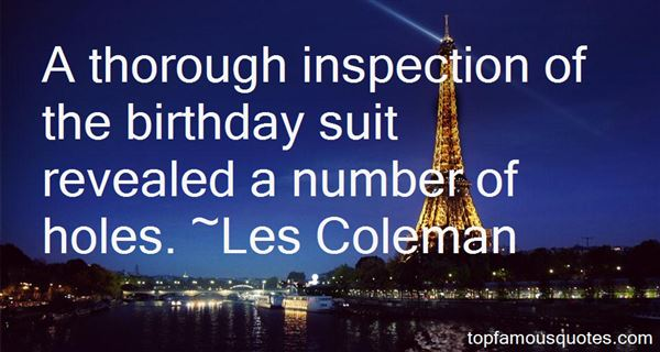 Quotes About Inspection