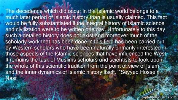 Quotes About Islamic Civilization