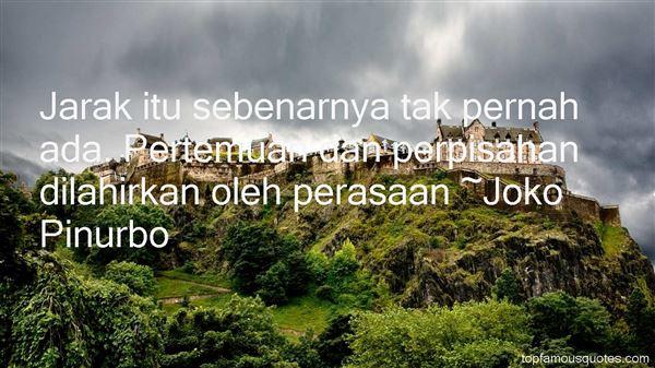 Quotes About Jarak