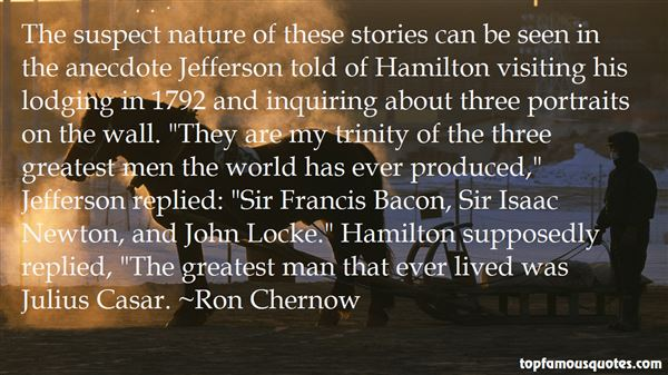Quotes About Jefferson And Hamilton